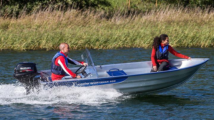 Linder 400 Sportsman: Linder 10 % på alla lagerbåtar!