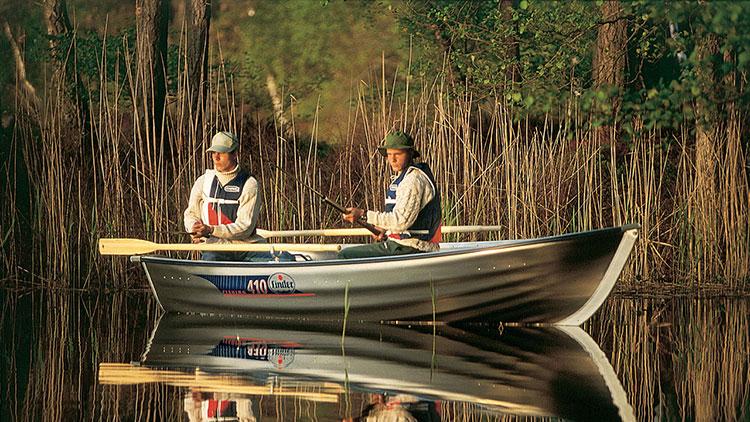 Linder 410 Fishing