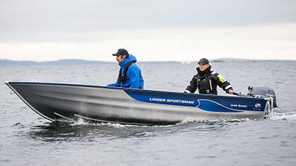 Linder 445 Sportsman Basic: 10 % rabatt på Linder-båtar