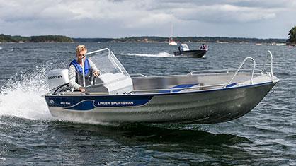 Linder 445 Sportsman Max: Linder 445 Max Kampanj!