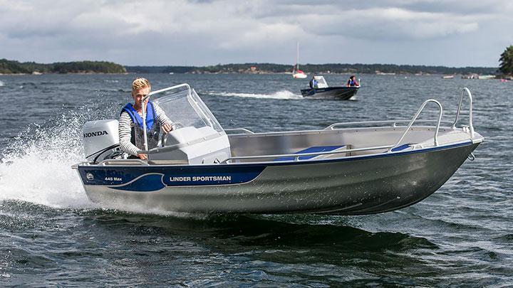 Linder 445 Sportsman Max: Linder 445 Max Snabb leverans!