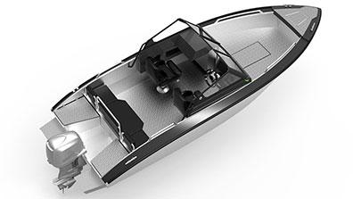 Silver Shark 580 BRX