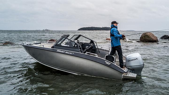 Silver Shark BRX: Silver Shark BRX / Mercury F115-CT