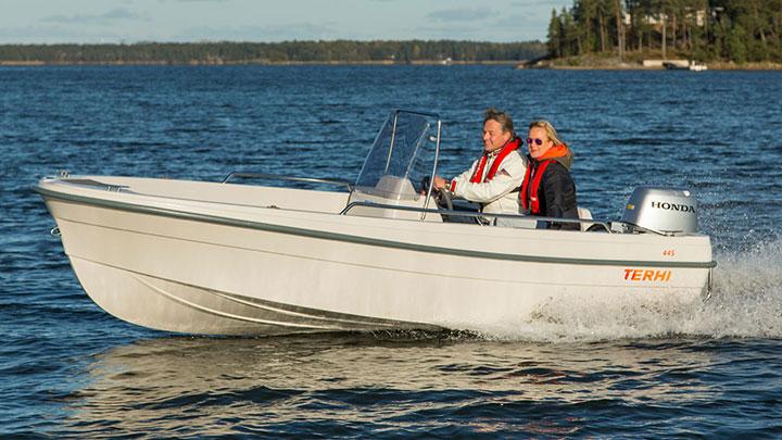 Terhi 445C: Terhi 10 % på alla lagerbåtar!