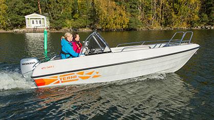 Terhi 475 Twin C: Terhi 10 % på alla lagerbåtar!