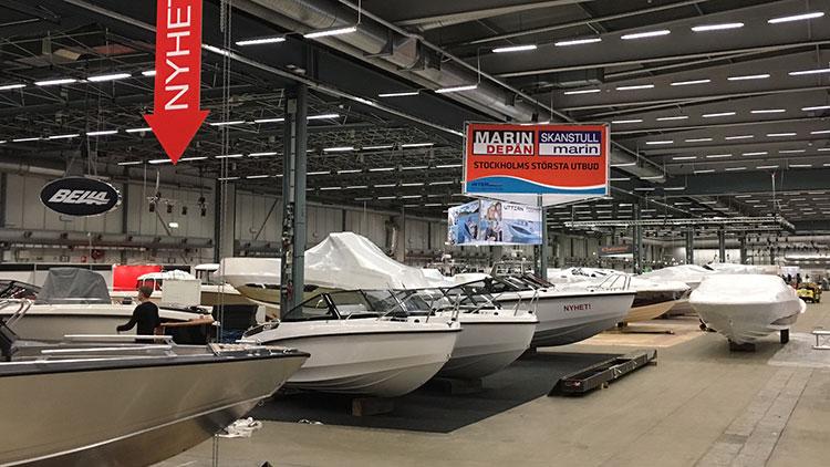 Marindepån på Allt För Sjön 2018