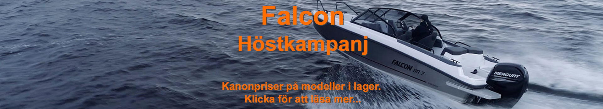 Falcon sensommarkampanj 2019