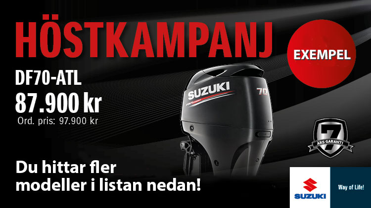 Höstkampanj Suzuki utombordare