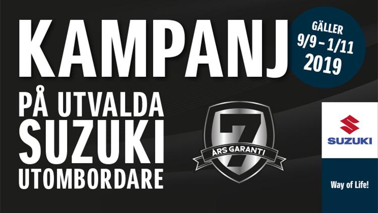 Suzuki höstkampanj 2019